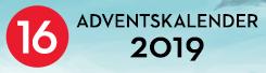 Gewinnspiel: Adventskalender - 2019 - Tag 16