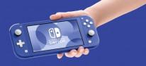 Nintendo Switch Lite: Ab Mai auch in blau erhältlich