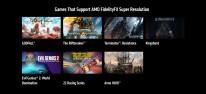 AMD: FidelityFX Super Resolution (FSR): Die Upscaling-Methode ist in den ersten Spielen verfügbar