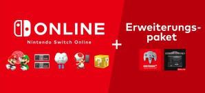 Nintendo Switch Online wird ausgeweitet