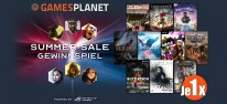 Gamesplanet: Anzeige: Summer-Sale-Gewinnspiel