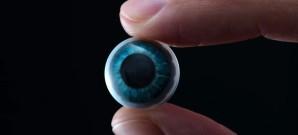 Kontaktlinsen mit AR-Funktionen in Arbeit