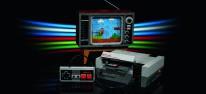 Lego: Nintendo Entertainment System und Fernseher mit Side-Scrolling-Funktion zum Nachbauen