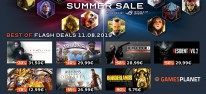 Gamesplanet: Anzeige: Summer-Sale, Tag 7: Finale mit den besten Flashdeals der letzten Woche, u.a. Doom für 6.25 Euro