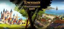 Townsmen: A Kingdom Rebuilt für PS4 und Xbox One erschienen; The Seaside Empire (DLC) verfügbar