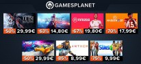 Gamesplanet: Anzeige: Electronic-Arts-Promoaktion, u.a. mit Star Wars Jedi Fallen Order oder Need for Speed Heat jeweils für 29,99 Euro