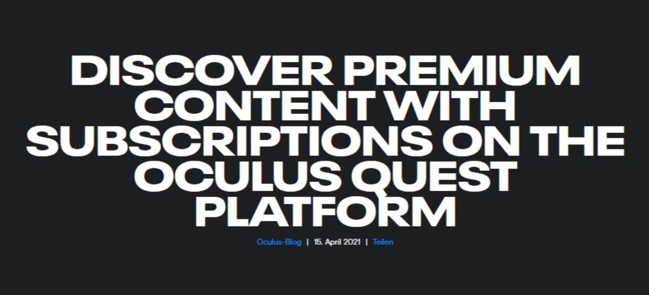 Oculus Quest 2 (Hardware) von Facebook/Oculus