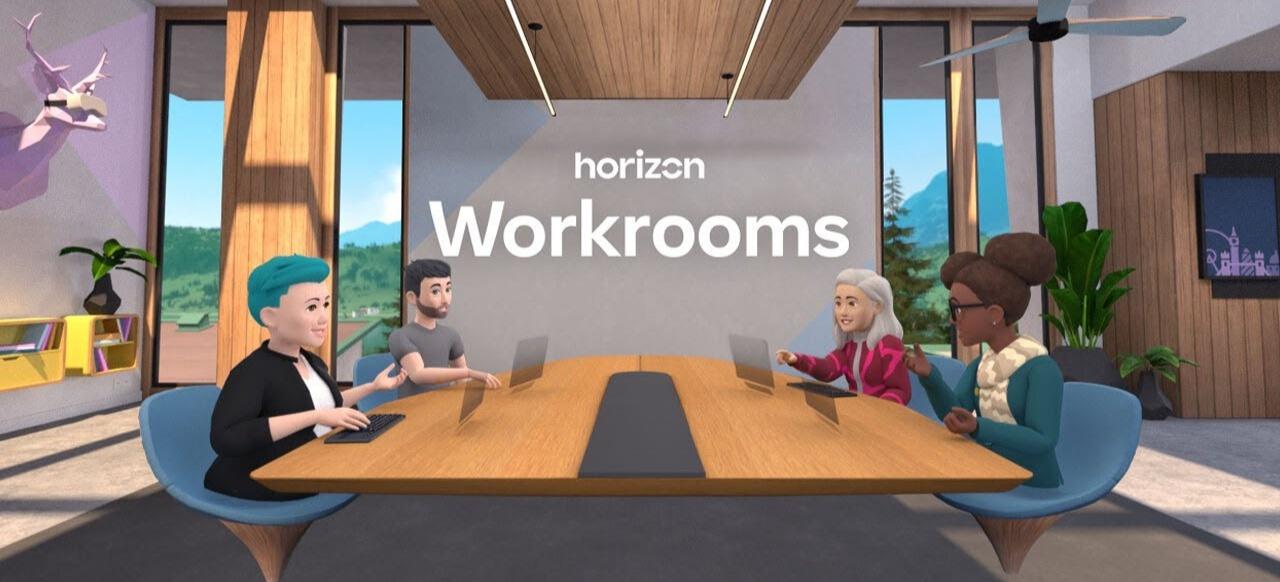 Horizon Worlds () von Facebook