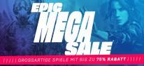 """Epic Games Store: """"Epic Games Mega Sale"""" gestartet; Shop aber immer noch offline"""