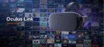 """Oculus Quest: Beta zur Kabel-Verbindung """"Oculus Link"""" mit einem Spiele-PC startet heute"""