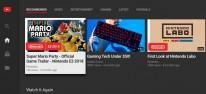 Nintendo Switch: YouTube-App steht bereit