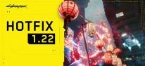 Cyberpunk 2077: Hotfix-Patch 1.22 für PC, Konsolen und Stadia veröffentlicht