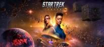 Star Trek Online: Legacy: Sonqeua Martin-Green und Jeri Ryan feiern das zehnjährige Bestehen