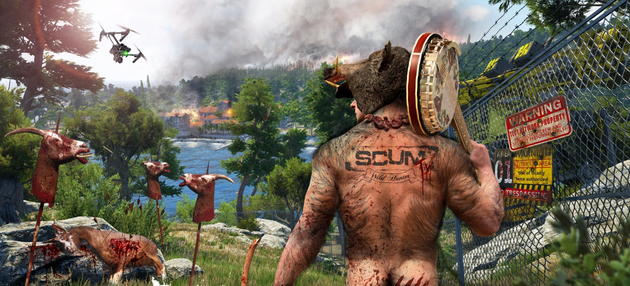 SCUM (Survival & Crafting) von Devolver Digital