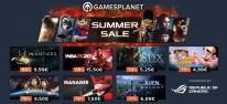 Gamesplanet: Anzeige: Tag 7 des Gamesplanet-Summer-Sale, u.a. mit Injustice 2 für 9,99 Euro, Aven Colony für 6,99 Euro oder Memories of Mars für 7,25 Euro