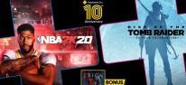 PlayStation Plus: Feiert im Juli mit Rise of the Tomb Raider, NBA 2K20 und Erica sein zehnjähriges Bestehen