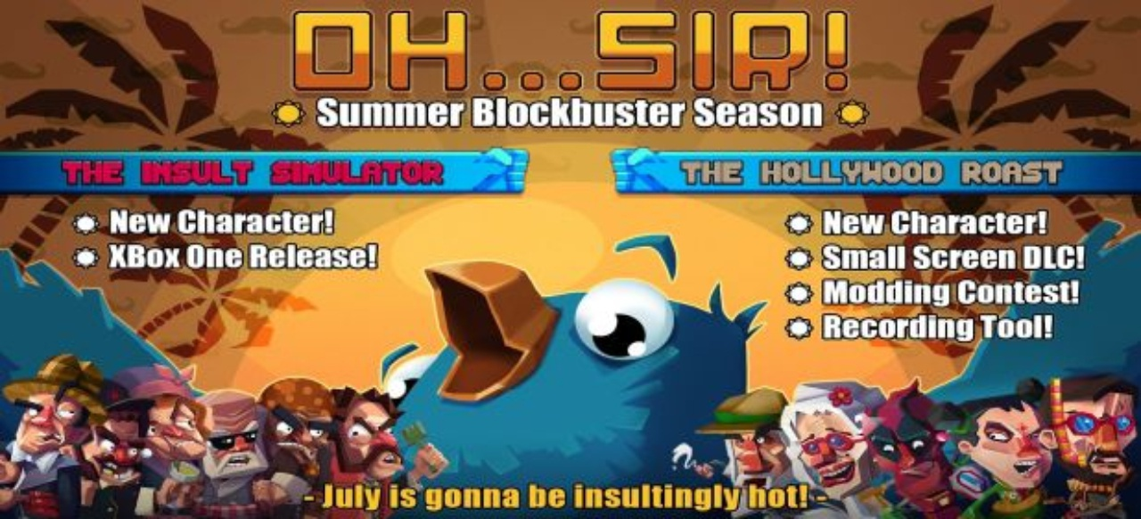 Oh...Sir! The Hollywood Roast (Simulation) von Gambitious Digital Entertainment	/ Good Shepherd Entertainment