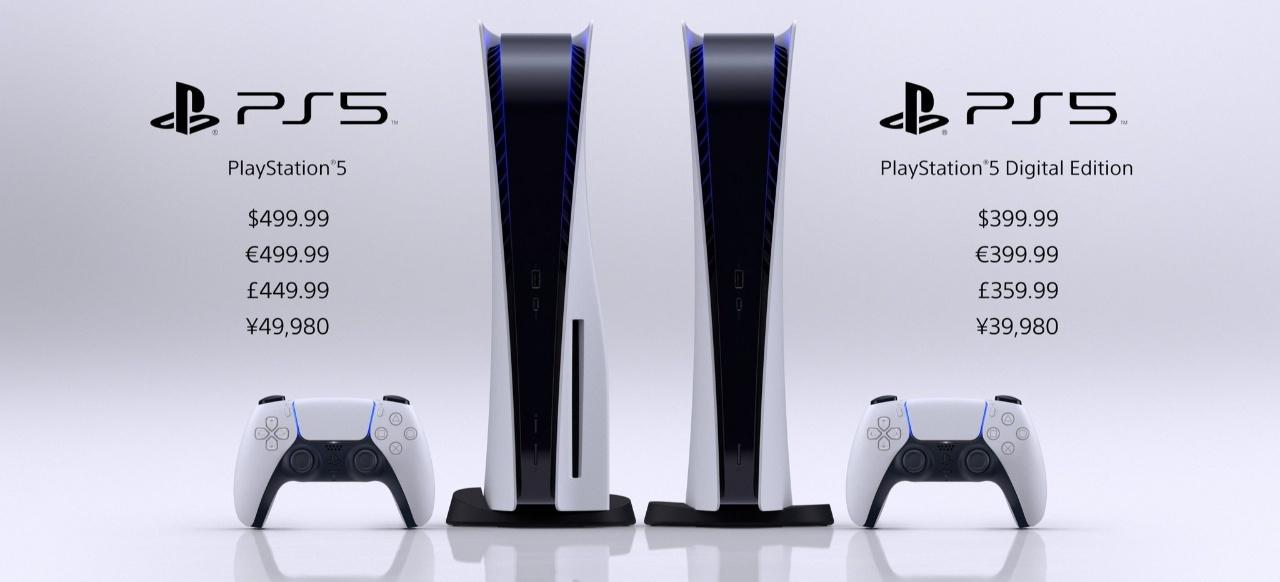 PS5 für 399 digital und 499 Euro mit Laufwerk am 19. November