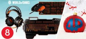 Jeden Tag neue Gewinnchancen, heute: Hardware-Set im World-of-Tanks-Design von Konix und Wargaming