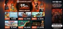 Gamesplanet: 15 Jahre Gamesplanet: Jubiläums-Sale #4 mit über 500 reduzierten Indie- und Arcade-Spielen, plus: One Finger Death Punch 2 gratis!