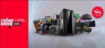 Computec Cyber Week: Anzeige: Tag 1 mit Top-Angeboten von Alternate, Asus, Gigabyte sowie Samsung SSDs, z.B. 860 Evo 500 GB SATA SSD für 69,51 Euro