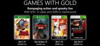 Xbox Games with Gold: Im Oktober 2019 mit Tembo, Friday the 13th und Ninja Gaiden 3