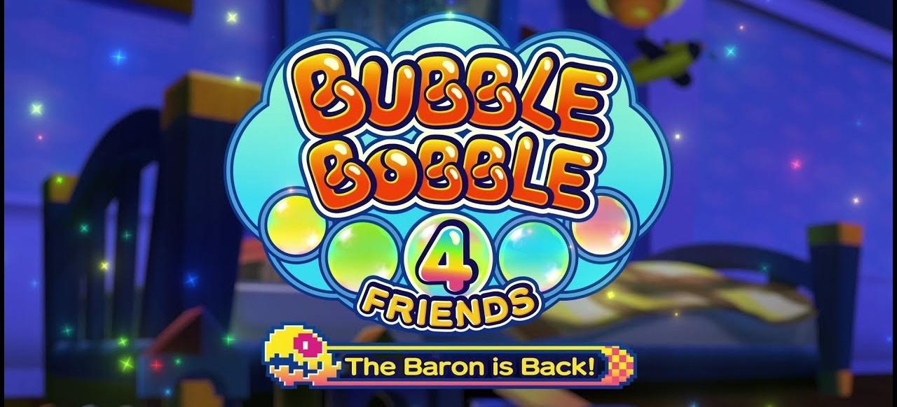 Bubble Bobble 4 Friends (Logik & Kreativität) von ININ Games / Strictly Limited Games