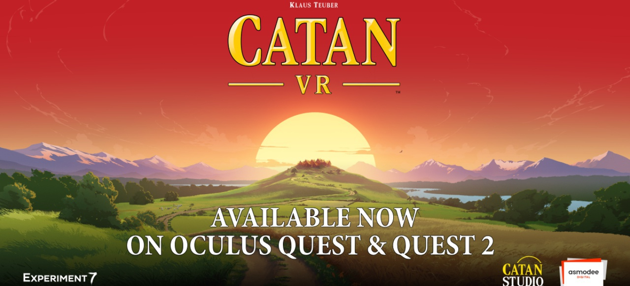 Catan VR (Taktik & Strategie) von Experiment 7 / Catan GmbH / Asmodee Digital