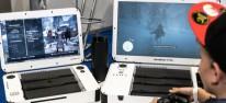 """Spielkultur: """"GameBook"""" mit Bildschirm und Konsolenschacht soll PS4 und Xbox One mobil machen"""