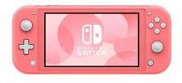 Nintendo Switch Lite: Ab April auch im Farbton Koralle erhältlich