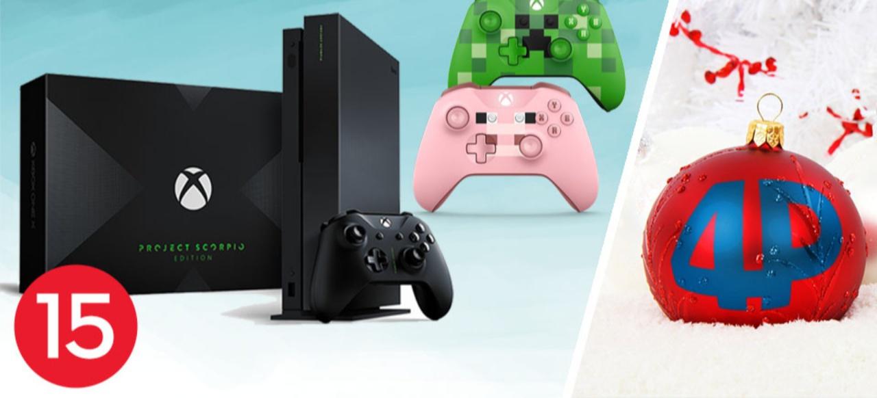 Jeden Tag neue Gewinnchancen, heute: Xbox One X Project Scorpio Edition und Minecraft Controller