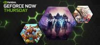 GeForce Now: 13 weitere Spiele verfügbar, darunter Outriders; April-Plan vorgestellt