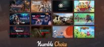 Humble Bundle: Choice im Februar 2021, u.a. mit Outward, Trine 4, Endless Space 2 und Valkyria Chronicles 4