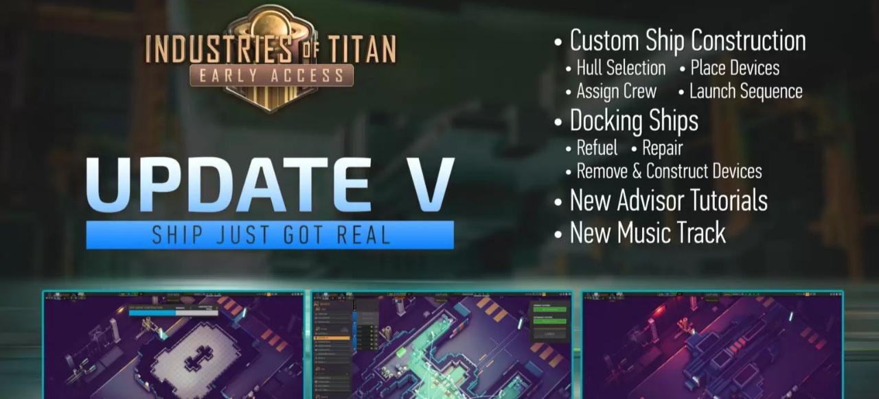 Industries of Titan (Taktik & Strategie) von