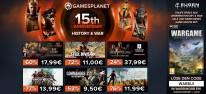 """Gamesplanet: 15 Jahre Gamesplanet: Teil 6 der Jubiläums-Angebote mit über 250 reduzierten Spielen unter dem Motto """"History & War"""", dazu: Wargame Airland Battle gratis"""