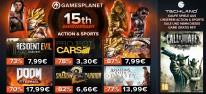 Gamesplanet: 15 Jahre Gamesplanet: Jubiläums-Sale mit über 500 Spielen aus Action und Sport, plus: Call of Juarez Bound in Blood gratis