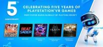 PlayStation VR: Sony feiert Fünfjähriges mit Überblick-Trailer und geplanten Kostenlos-Titeln per PS Plus