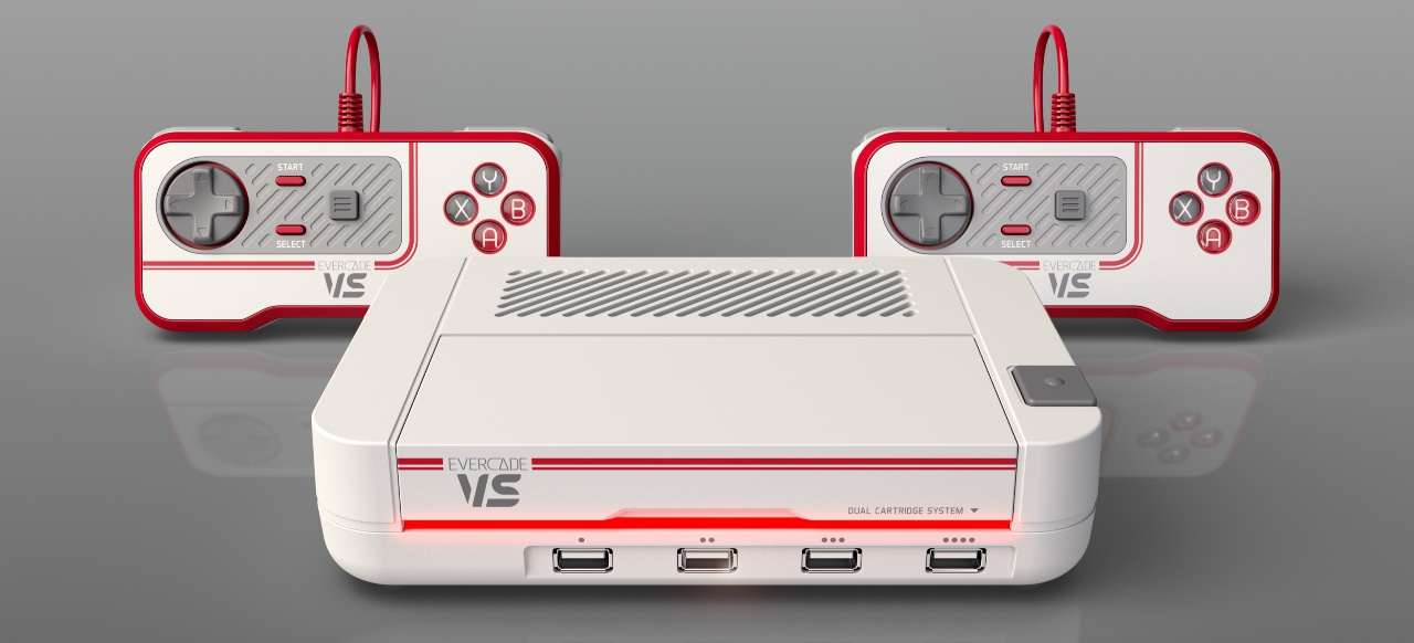 Evercade VS (Hardware) von Blaze Entertainment