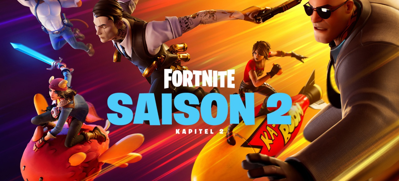Fortnite (Shooter) von Epic Games / Gearbox Publishing