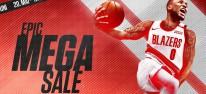 """Epic Games Store: NBA 2K21 derzeit kostenlos; """"Epic Mega Sale"""" gestartet, wieder mit 10-Euro-Gutscheinen"""