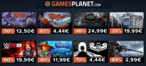 Gamesplanet: Anzeige: Gamesplanet-Angebote zum Wochenstart, u.a. WWE 2K19 für 19,99 Euro, The Banner Saga 3 für 12,50 Euro