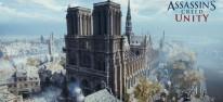Ubisoft: 500.000 Euro für die Restauration von Notre-Dame gespendet; Assassin's Creed Unity kostenlos für PC