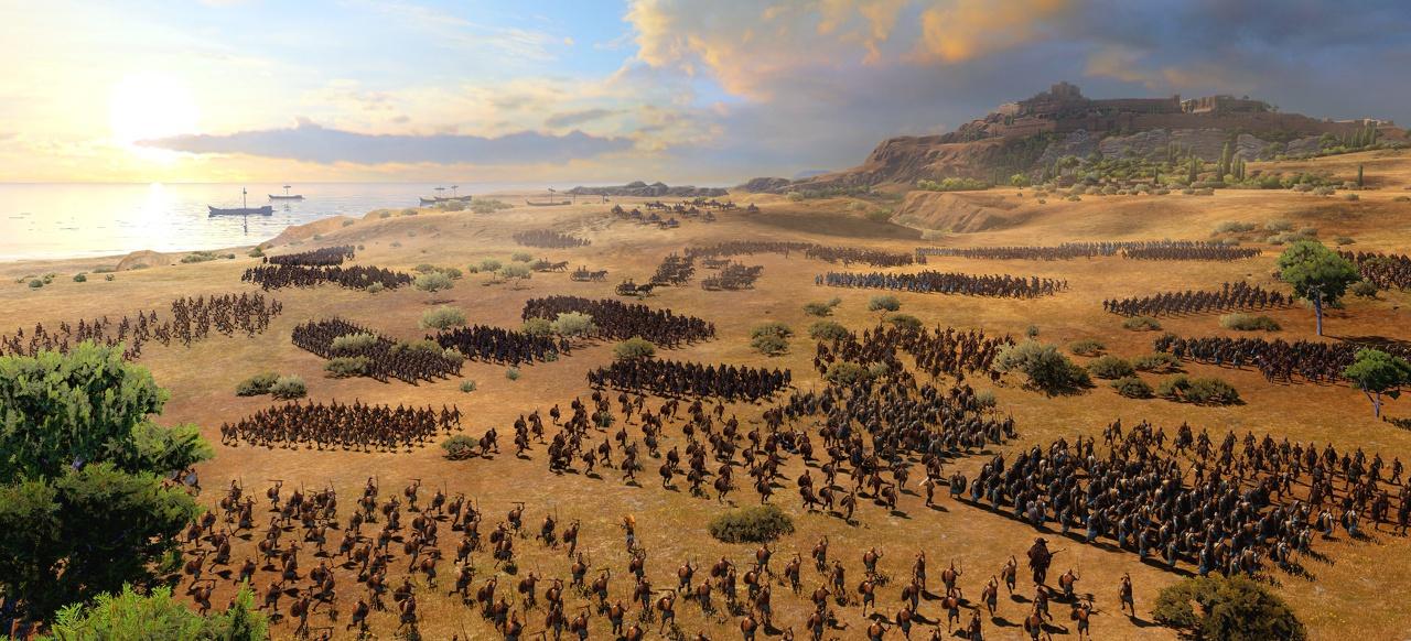 A Total War Saga: Troy (Taktik & Strategie) von Sega