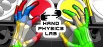 "Oculus Quest: App ""Hand Physics Lab"" ermöglicht lustige Experimente mit dem Fingertracking des VR-Headsets"
