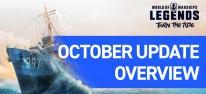 World of Warships: Legends - Stapellauf der italienischen Kreuzer, Steel-Redeemer-Kampagne und Halloween-Event