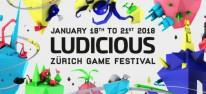 Allgemein: Ludicious: Zürich Game Festival startet nächste Woche mit Diskussionen, Spielen und Workshops