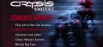Crysis Remastered: Update für die Konsolen: Next-Generation-Anpassungen und viele Verbesserungen