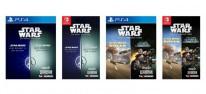 Star Wars: Zwei Klassiker-Bundles für PS4 und Switch von Aspyr