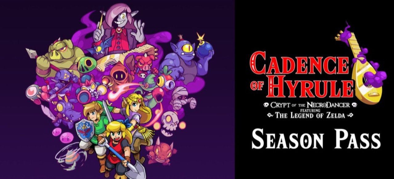 Cadence of Hyrule - Crypt of the NecroDancer Featuring The Legend of Zelda (Musik & Party) von Spike Chunsoft / Nintendo