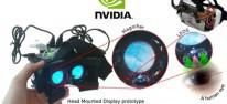 Nvidia: Entwickelt leichtgewichtige LED-Blickerfassung für VR-Headsets